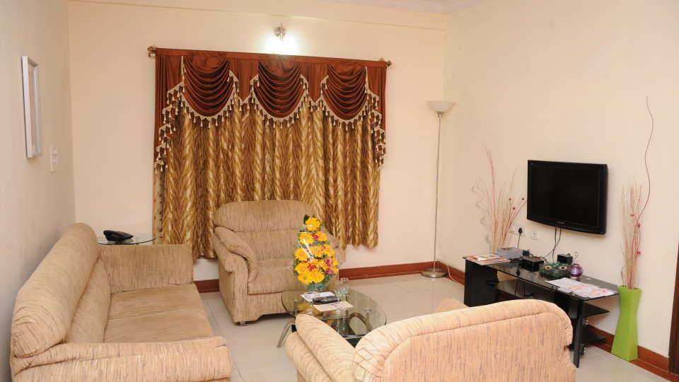 Maple Suites Serviced Apartments, Bangalore Bangalore Suite Living Room Maple Suites Serviced Apartments Bangalore