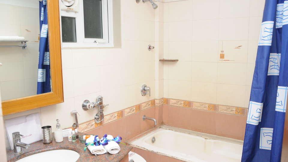 Maple Suites Serviced Apartments, Bangalore Bangalore Washroom 1 Maple Suites Serviced Apartments Bangalore
