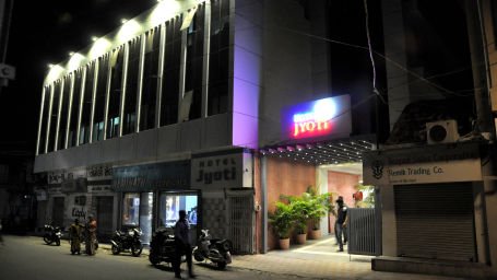 Exterior Hotel Jyoti - Rajkot Gujrat 2