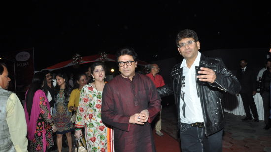 The Orchid - Five Star Ecotel Hotel Mumbai Raj Thackeray at The Orchid Hotel Mumbai