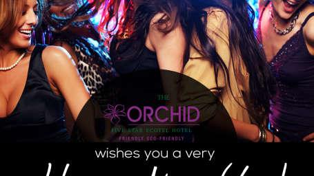 The Orchid - Five Star Ecotel Hotel Mumbai Happy new year