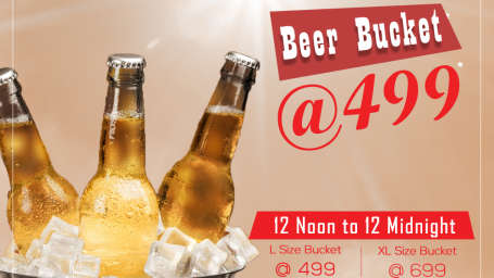 Beer offer at VITS Bhubaneswar Hotel