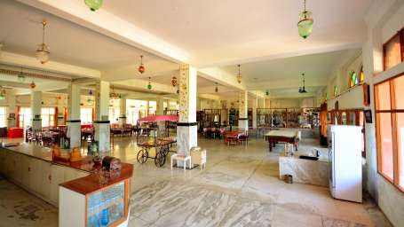 Dining at Umaid Lake Palace Hotel Kalakho Dausa Rajasthan