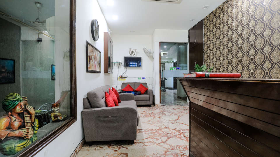 Reception1 Cosy Grand Hotel RK Puram Hotels In Delhi