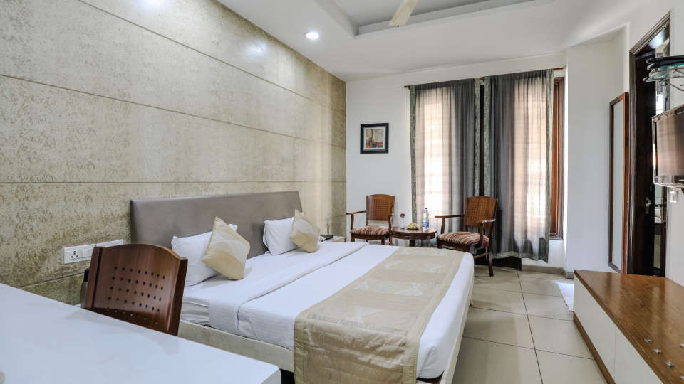 Super Deluxe Rooms1 Rooms at Cosy Grand Hotel RK Puram 3-Star Delhi Hotel
