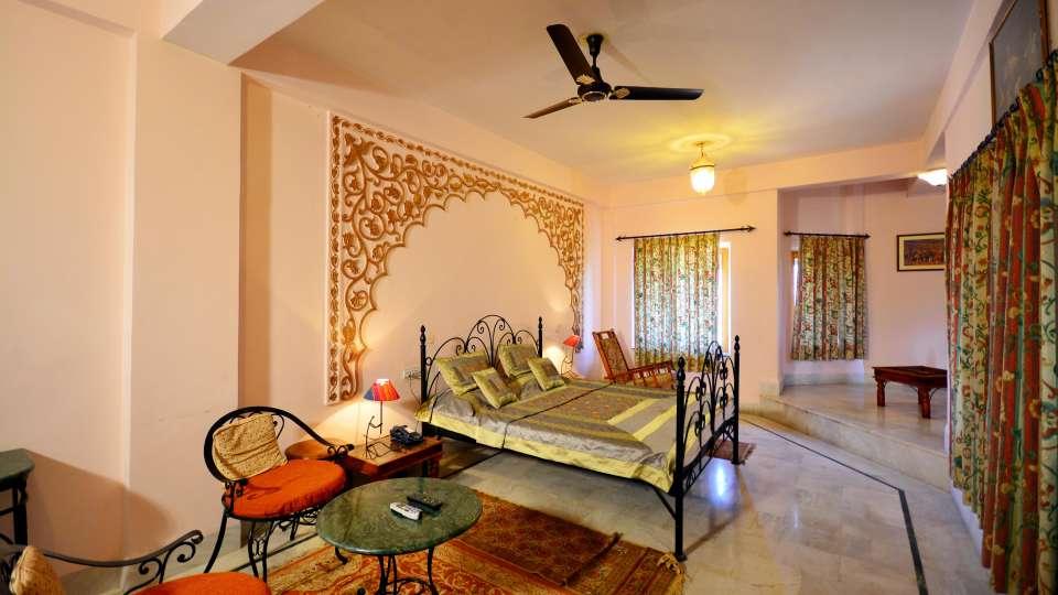 Roayl Suite at Umaid Lake Palace Hotel Kalakho Dausa Rajasthan