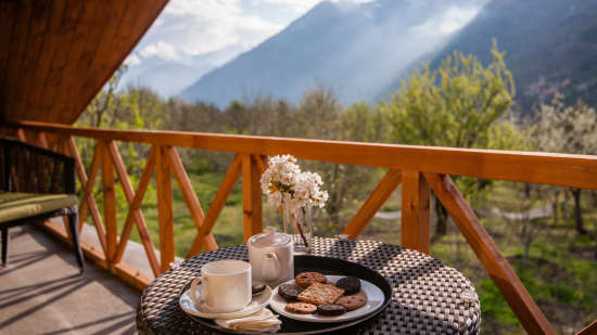 Premier Luxury Suite LaRiSa Mountain Resort in Manali - Best Resorts in Manali