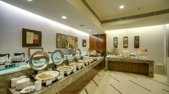 Dining at The Muse Sarovar Portico Nehru Place New-Delhi