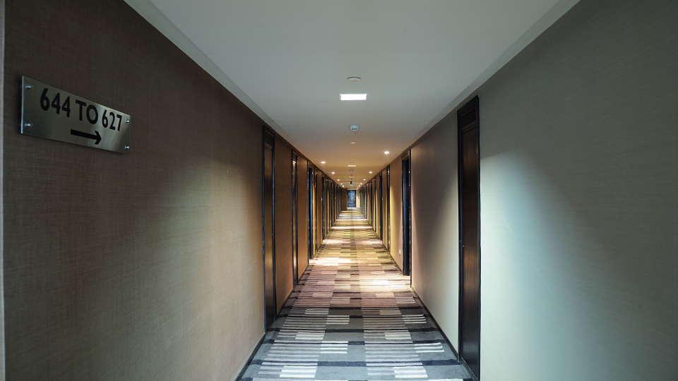 Corridor at Davanam Sarovar Portico Bangalore, Hotels in Bangalore 2