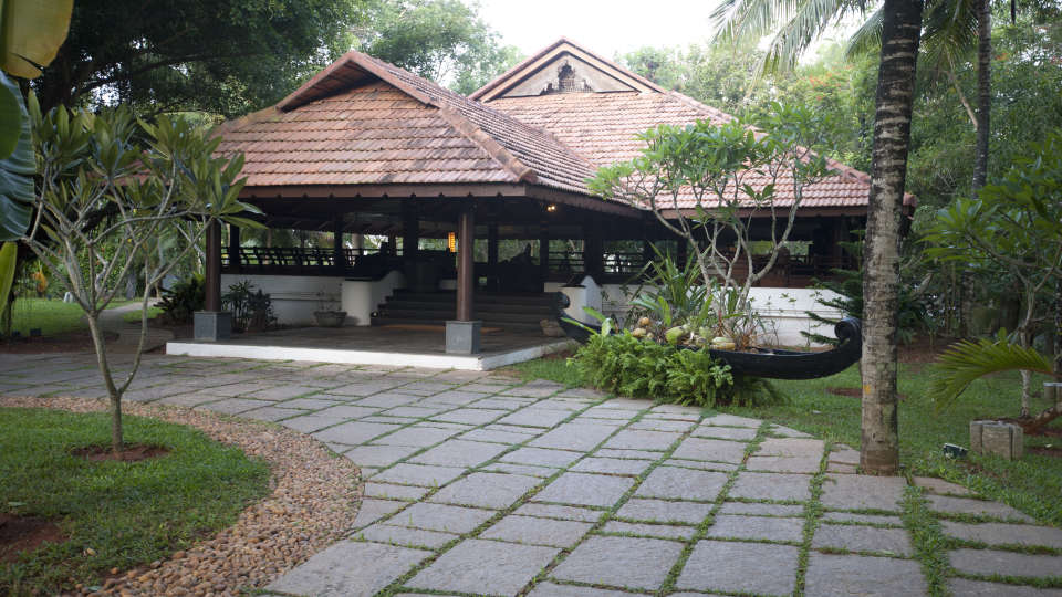 Restaurant at Niraamaya Retreats Surya Samudra, Kovalam Beach Resort 8
