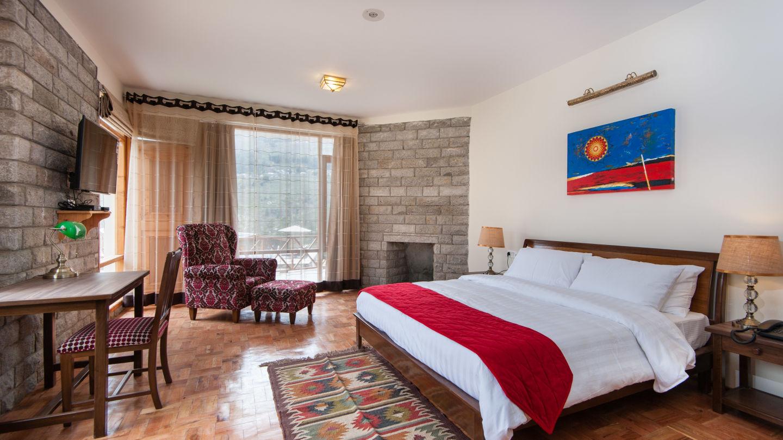 Deluxe Room LaRiSa Mountain Resort Manali 9  Best Resort in Manali