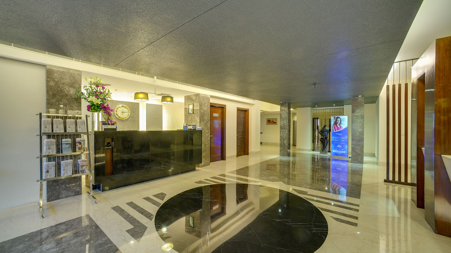 Lobby at The Muse Sarovar Portico Nehru Place New-Delhi