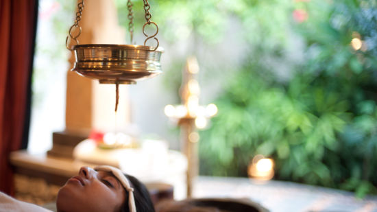 Ayurveda Therapy - Shirodhara