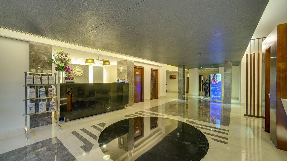 Lobby at The Muse Sarovar Portico Nehru Place New-Delhi