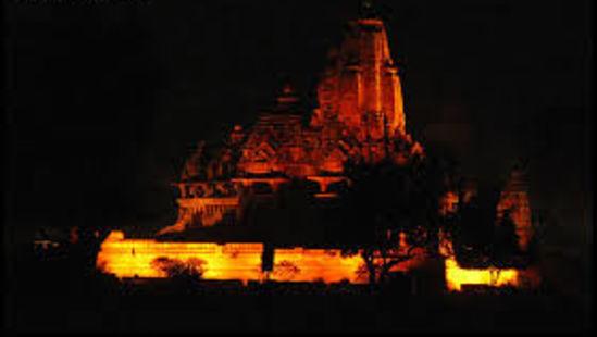 light and sound show in khajuraho