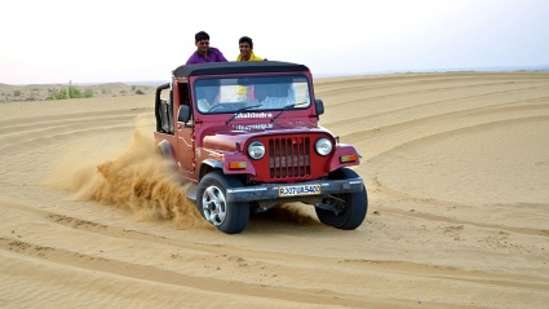 Jeep Safari Tao Experience Jaisamler