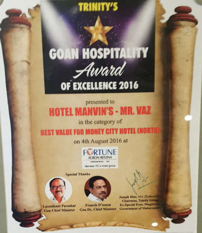 Manvins Hotels  trinity