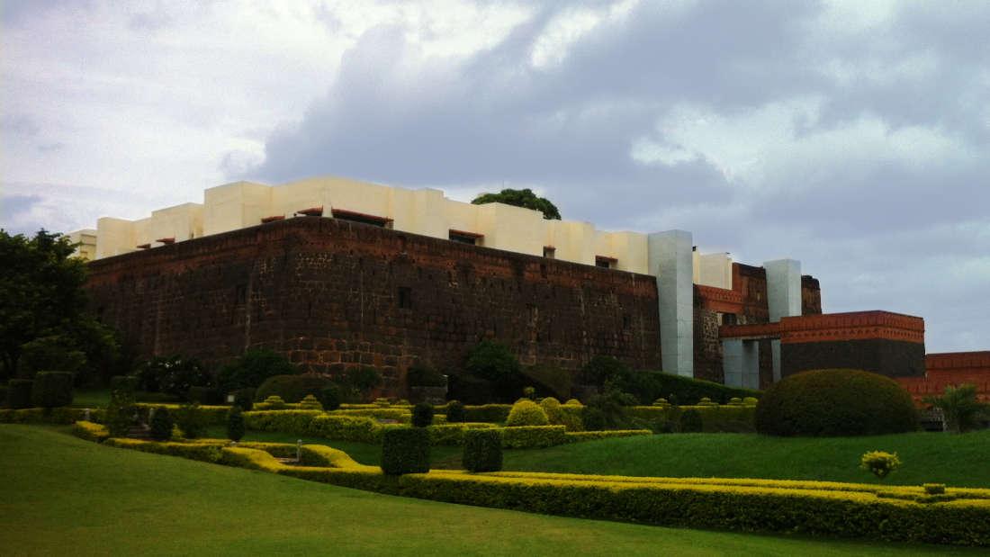 Exterior of Fort Jadhavgadh Resort Hotel Pune- resort near mumbai