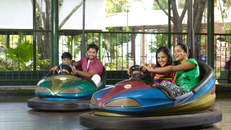 Dry Rides - Dashing Car at Wonderla Kochi Amusement Park