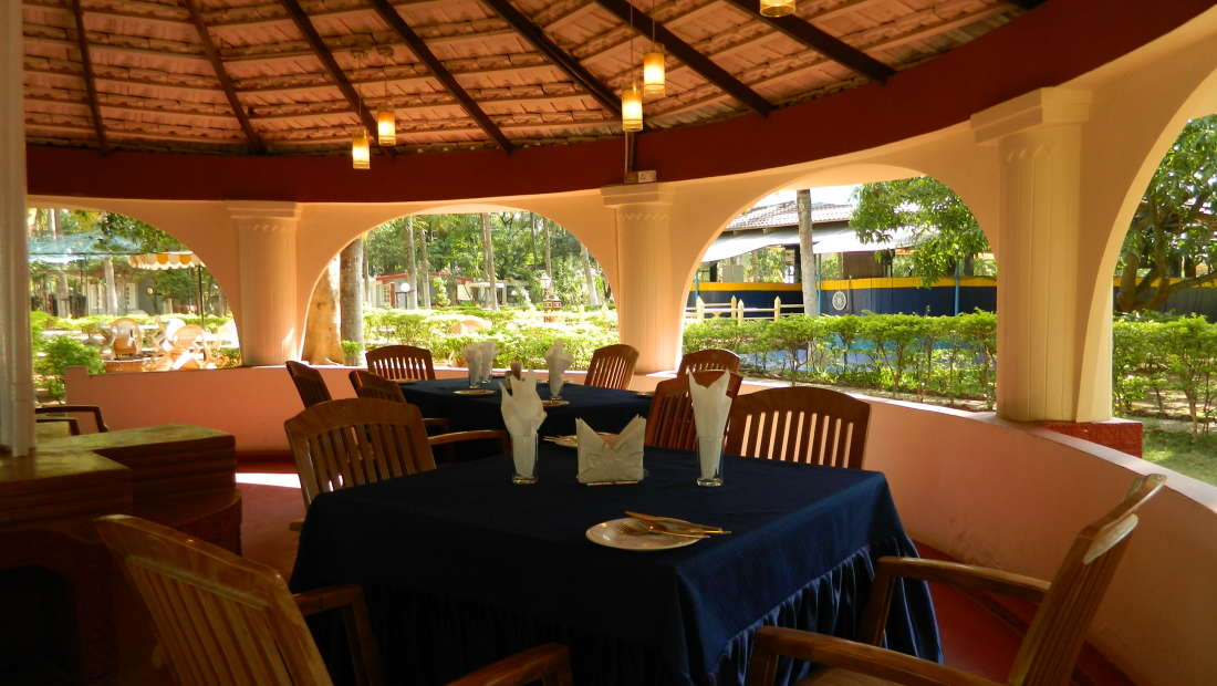 Fantasy Golf Resort Bangalore Gazebo Restaurant at Fantasy Golf Resort Bangalore