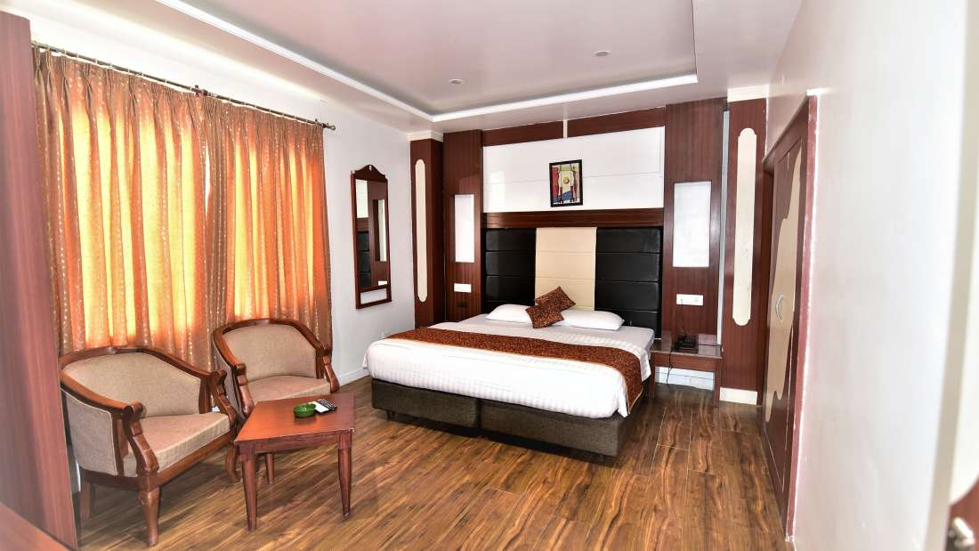 Standard room alps resort dalhousie 1