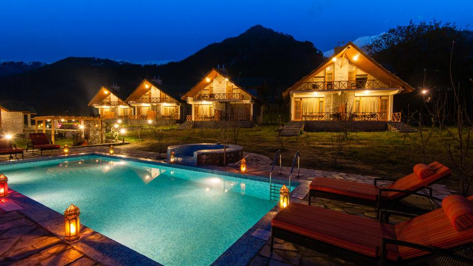 Pool LaRiSa Mountain Resort Manali - Hotels in Manali 7