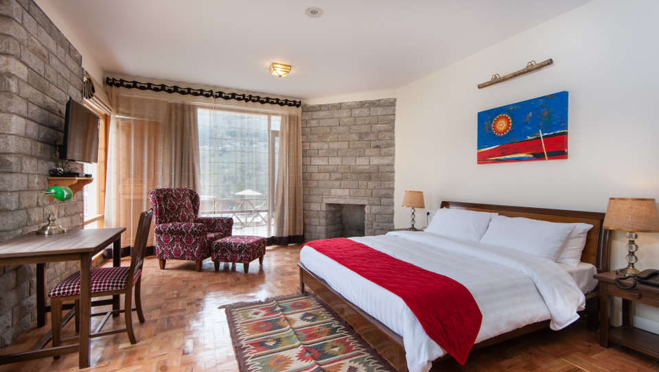 Deluxe Room LaRiSa Mountain Resort Manali 9, Best Resort in Manali