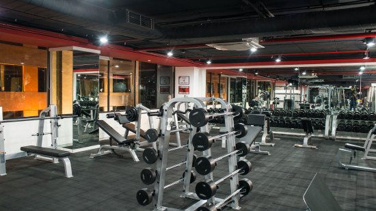 GYM at Hotel Daspalla Hyderabad 5