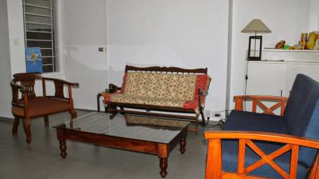Casa Cottage Hotel, Bangalore Bangalore Casa Milton - Cooke Town - Furnished Apartment 2 BHK - Living Room 4