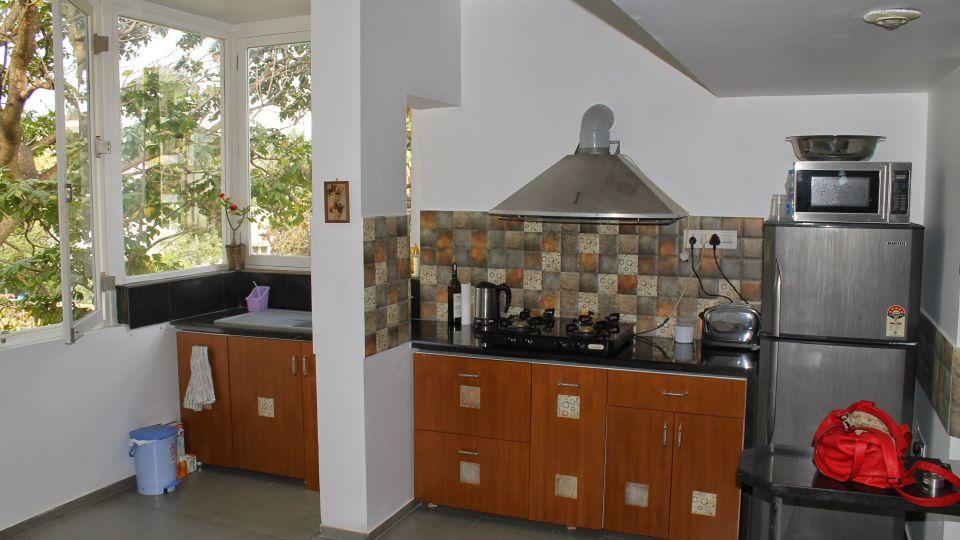 Casa Cottage Hotel, Bangalore Bangalore Casa Milton - Cooke Town - Furnished Apartment 2 BHK - Kitchen