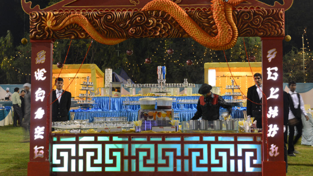 theme catering at Narayani Heights, catering services in ahmedabad