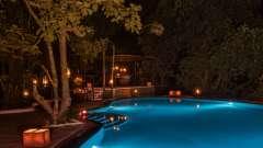 Pool At Reni Pani Jungle Lodge