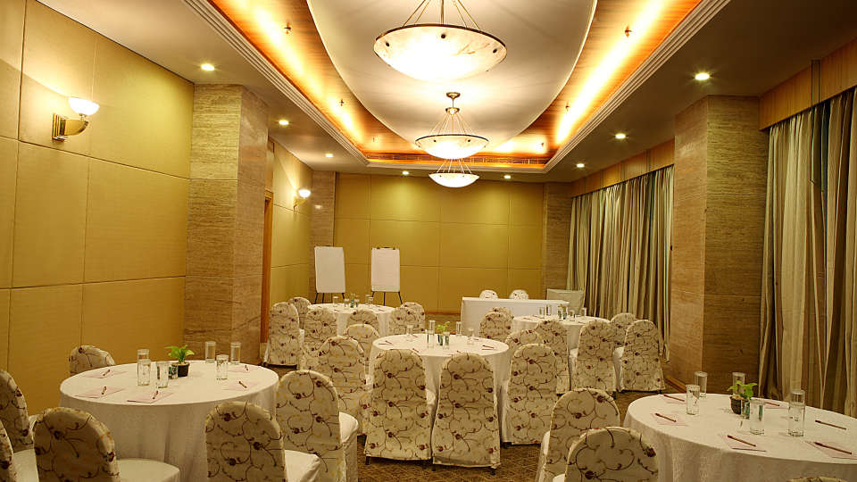 Chancery conference hall at the orchid hotel mumbai vile parle - 5 star hotel near mumbai airport