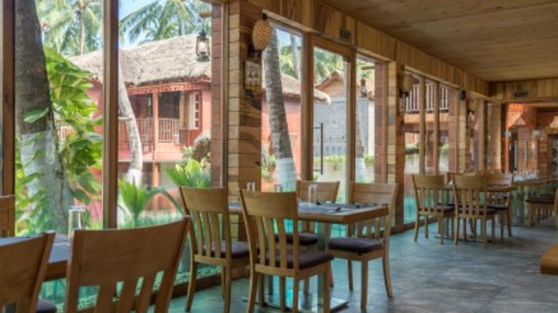 black lemon restaurant, coral reef resort havelock , resort in swaraj dweep
