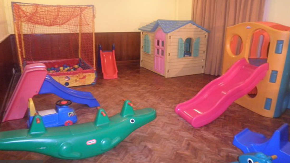 Toddler's room at The Retreat Hotel and Convention Centre, Mad Island