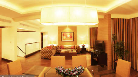 The Retreat Hotel and Convention Centre, Malad, Mumbai Mumbai Presidential suite The Retreat Hotel and Convention Centre Malad Mumbai