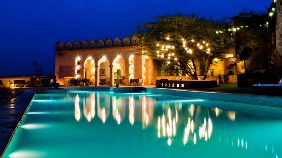 Hill Fort Kesroli Kesroli Pool Hotel Hill Fort Kesroli Alwar Rajasthan