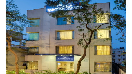 Facade at Hotel Sarovar Portico Naraina New Delhi
