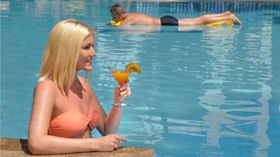 Pool, Park Inn by Radisson Goa Candolim - A Carlson Brand Managed by Sarovar Hotels, goa resorts near candolim 1