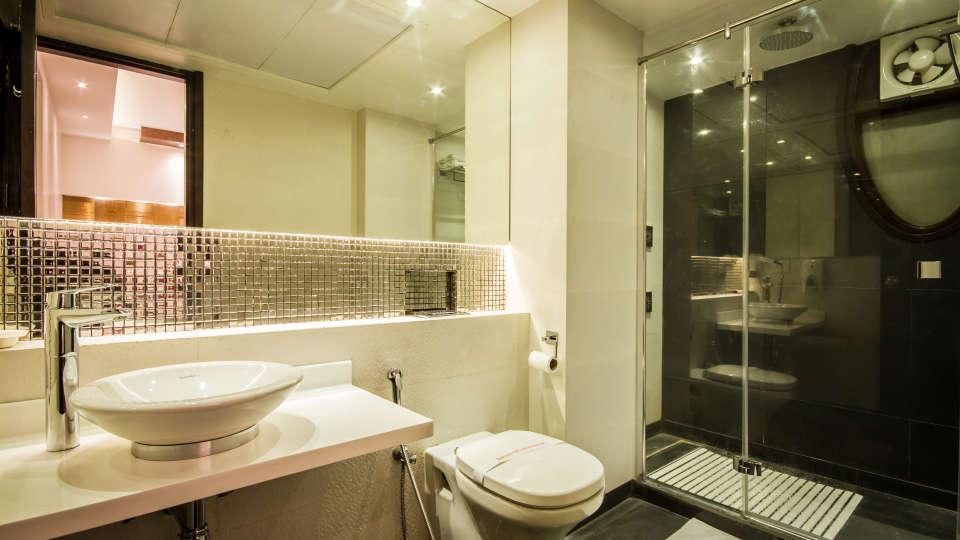 Washroom Grand Godwin New Delhi 11