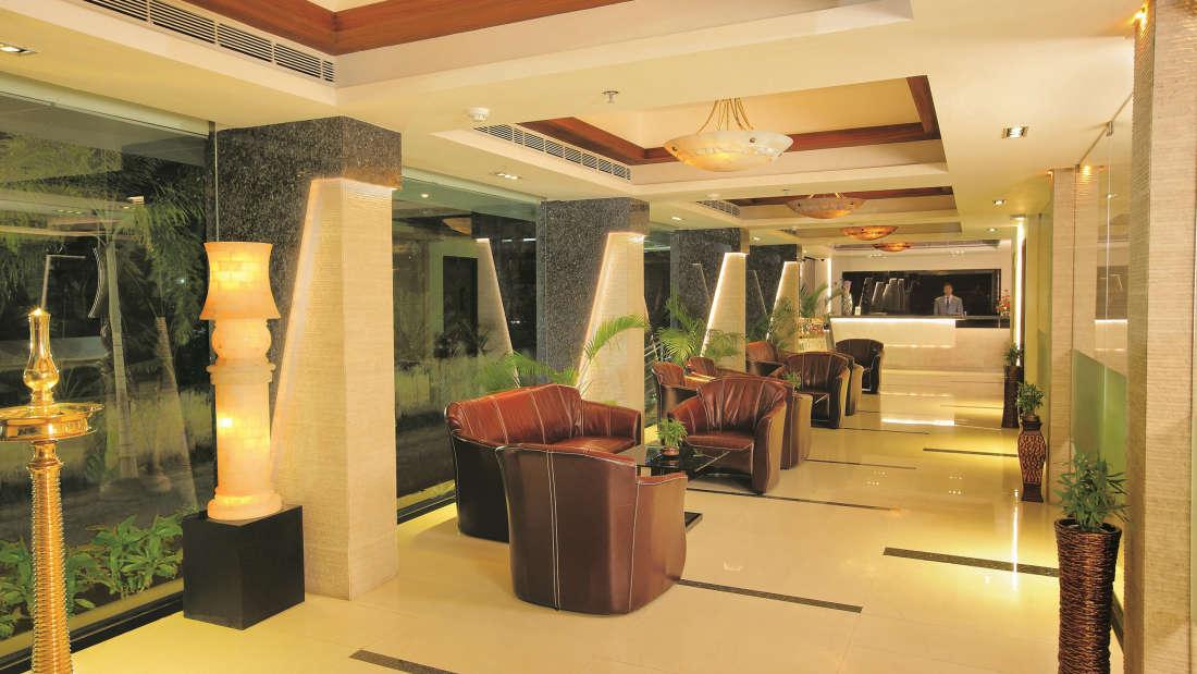 Lobby Biverah Biverah Hotel Suites Trivandrum Thiruvanthapuram