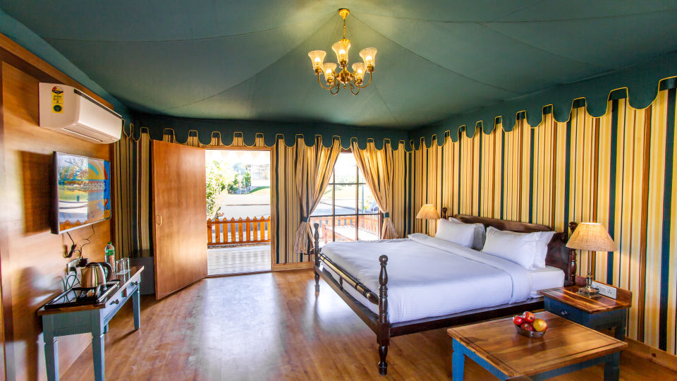 Accommodation in Ranthambore - Luxury Tents at The Baagh Ananta Elite
