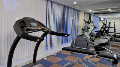 Gymnasium Hometel Chandigarh, best hotels in chandigarh