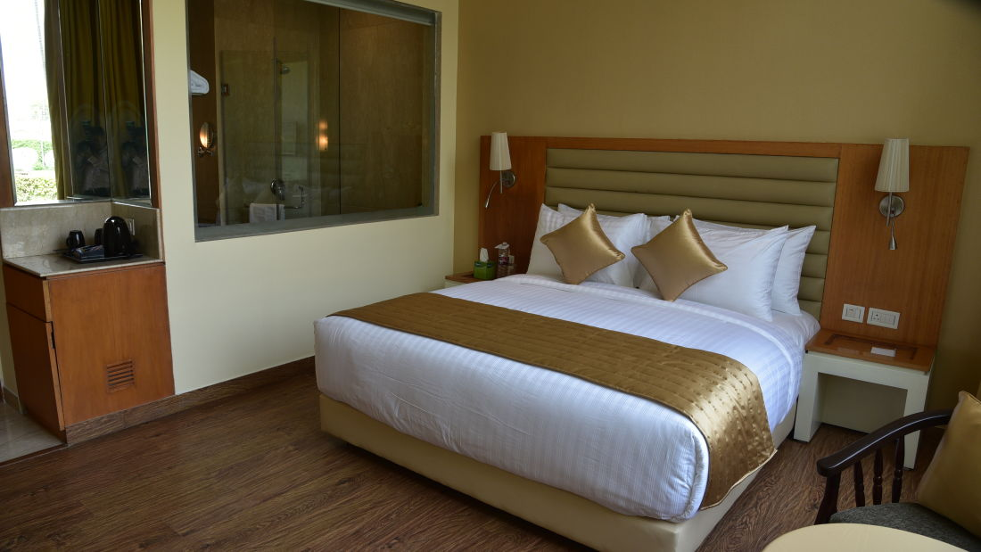 Deluxe Rooms at OPULENT HOTEL BY FERNS N PETALS, Rooms In New Delhi,Deluxe Rooms In Delhi 2
