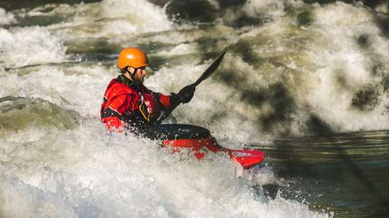 White water rafting from Shivpuri to Nim Beach