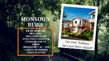 TGI Hotels and Resorts   yercaud