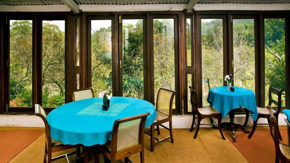 Wallwood Garden - 19th C, Coonoor  Restaurant with view of greenery Wallwood Garden Coonooor Tamil Nadu 2