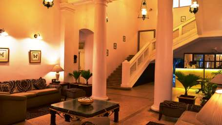 Mahodadhi Palace - A Beach View Heritage Hotel in Puri Puri lobby Mahodadhi Palace Beach View Heritage Hotel in Puri 4