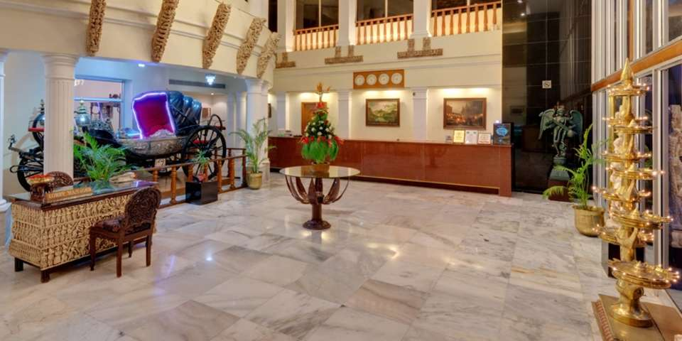 Lobby and Reception of Hotel Ambassador Pallava Chennai - 4 Star Hotel in Chennai