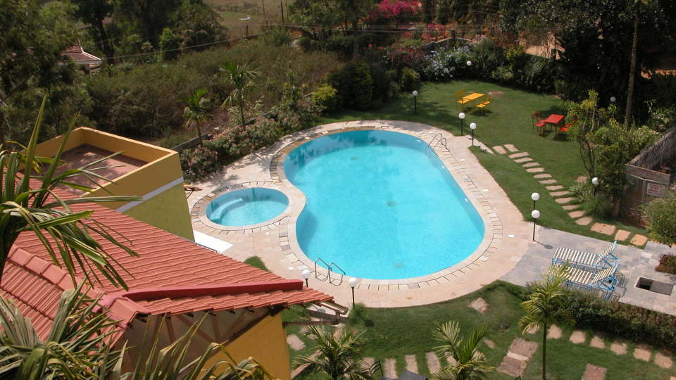 Swimming Pool at Hotel Coorg International Madikere